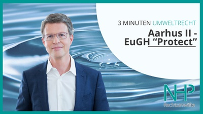 Aarhus II - EuGH zu NGOs