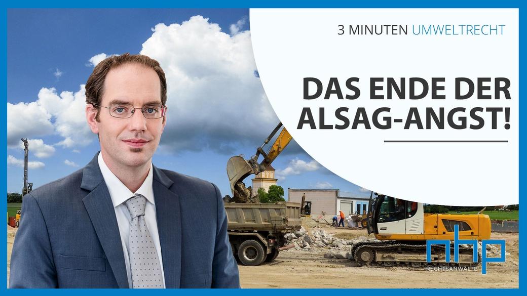 Das Ende der AlSAG-Angst!