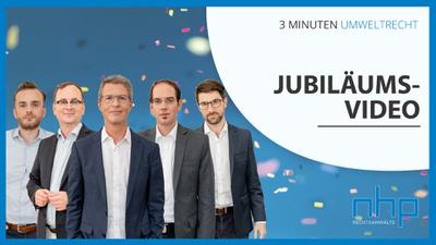"""Jubiläumsvideo: 50 x """"3 Minuten Umweltrecht"""""""