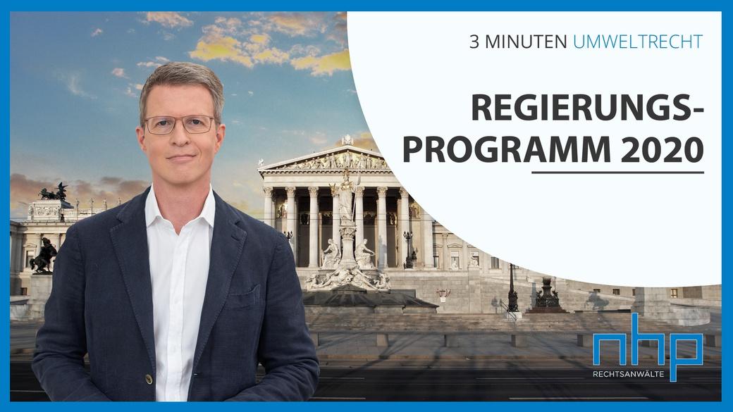 Regierungsprogramm 2020