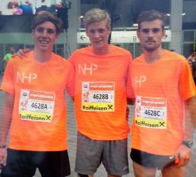 NHP wieder einmal SIEGER beim Wien Energie Business Run 2014