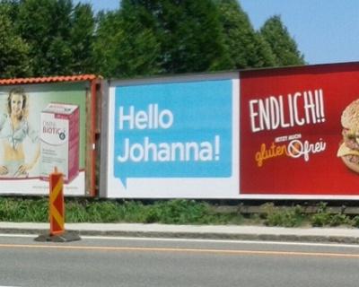 Hallo Johanna!