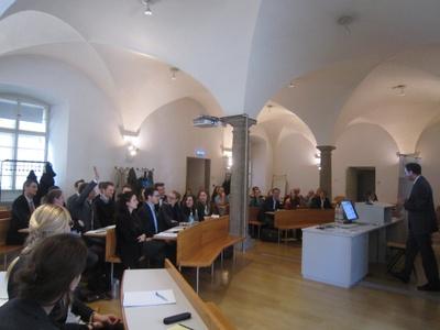 3. Moot Court Umweltrecht mit Niederhuber & Partner Rechtsanwälte