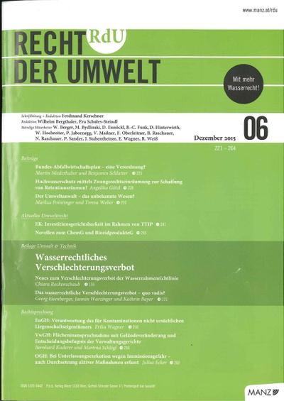 Martin Niederhuber und Benjamin Schlatter schreiben in der RdU