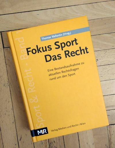 """4 NHP-Anwälte mit Beiträgen im """"Fokus Sport. Das Recht"""" vertreten"""