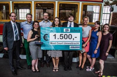 Universität Wien gewinnt Moot Court Umweltrecht 2017