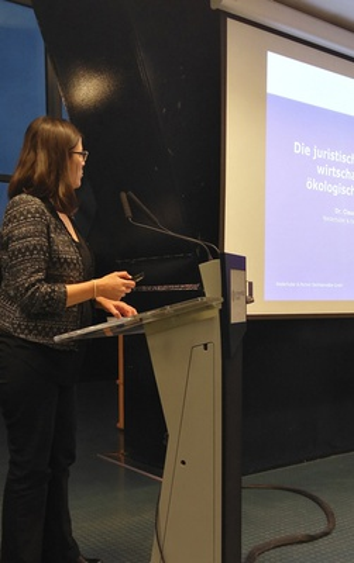 Erste Tagung der Forschungsstelle Umweltrecht am Wiener Juridicum unter Beteiligung von NHP-Expertin Dr. Claudia Fuchs ein voller Erfolg