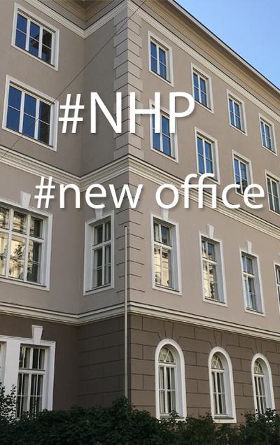 Ein neues Jahr, ein neues Haus: Neue Räume für den Wiener NHP-Kanzleisitz