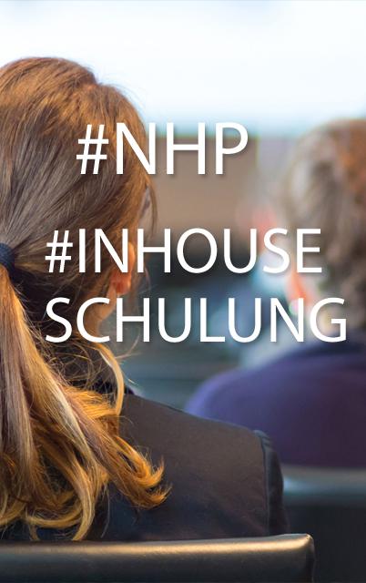 """NHP veranstaltet Inhouse Schulung """"Bundesvergabegesetz ...  NHP veranstalte..."""