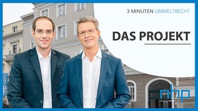"""3 MINUTEN UMWELTRECHT: """"Das Projekt"""""""