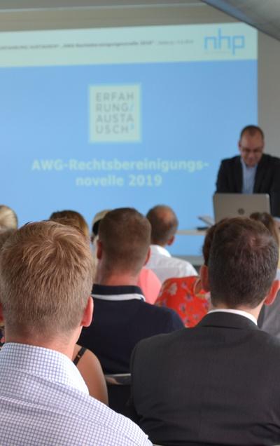 Wichtige Neuerungen im Abfallrecht –  Frisch präsentiert bei Informationsveranstaltung von NHP in Salzburg