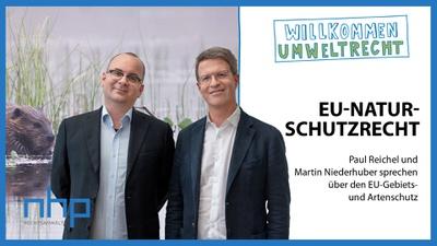 """WILLKOMMEN UMWELTRECHT: """"EU-Naturschutzrecht"""""""