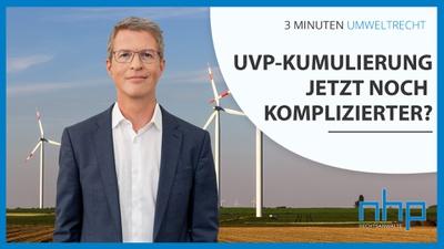 """3 MINUTEN UMWELTRECHT: """"Wasserkraftwerk und Windenergie? VwGH verlangt gemeinsame Prüfung der Umweltauswirkungen """""""