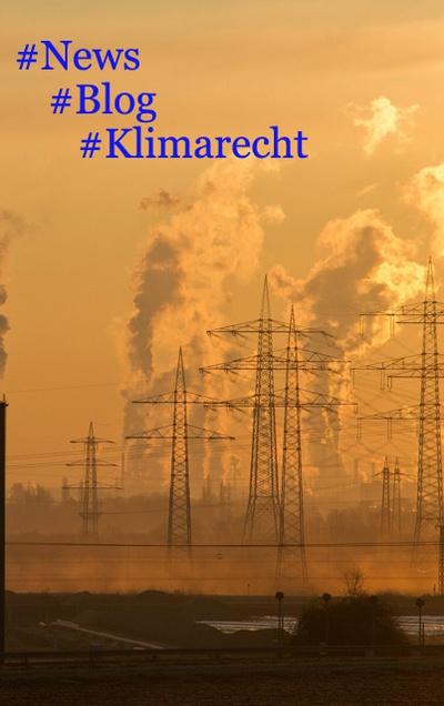 Neuer Beitrag am Umweltrechtsblog: Europäisches Klimagesetz